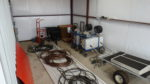 Spray Carts, Hoses, inside storage