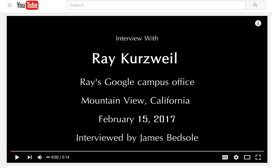 Ray Kurzweil - A Revolution in Medicine