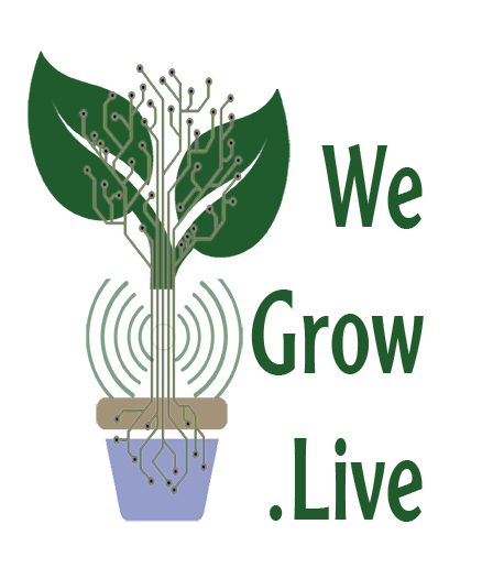 We Grow Live Logo
